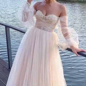 Boho wedding dress 2021